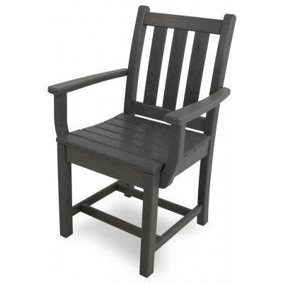 POLYWOOD® Traditional Garden Dining Arm Chair - Skylar's Home and Patio