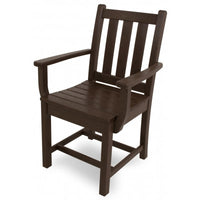 POLYWOOD® Traditional Garden Dining Arm Chair