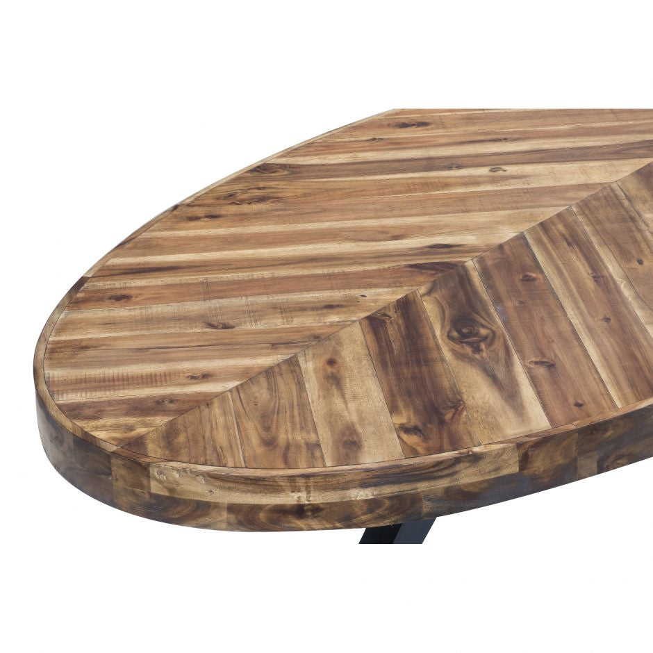Parq Oval Coffee Table - Skylar's Home and Patio
