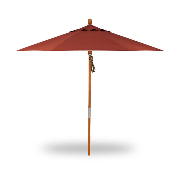 9′ Quad Pulley Lift Market Umbrella - Octagon - Skylar's Home and Patio