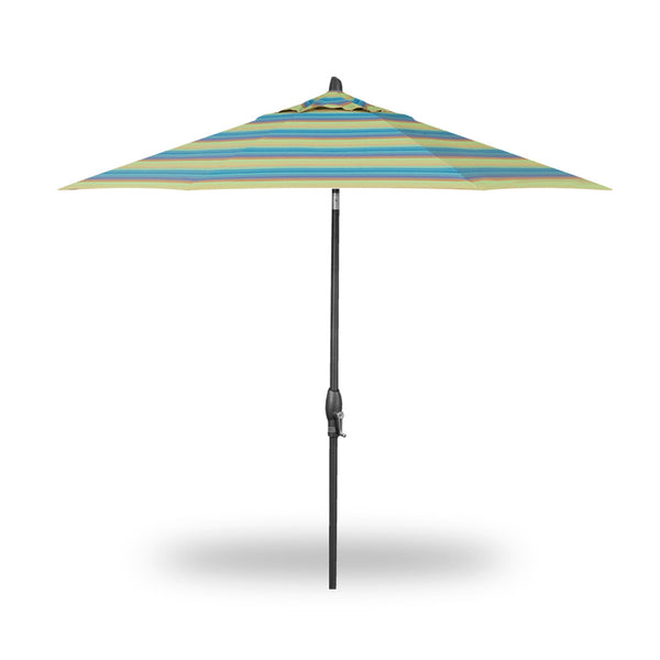 9′ Auto Tilt Market Umbrella - Octagon - Skylar's Home and Patio