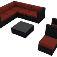 Urbana Coffee Bean 8 Pc. Sectional Set