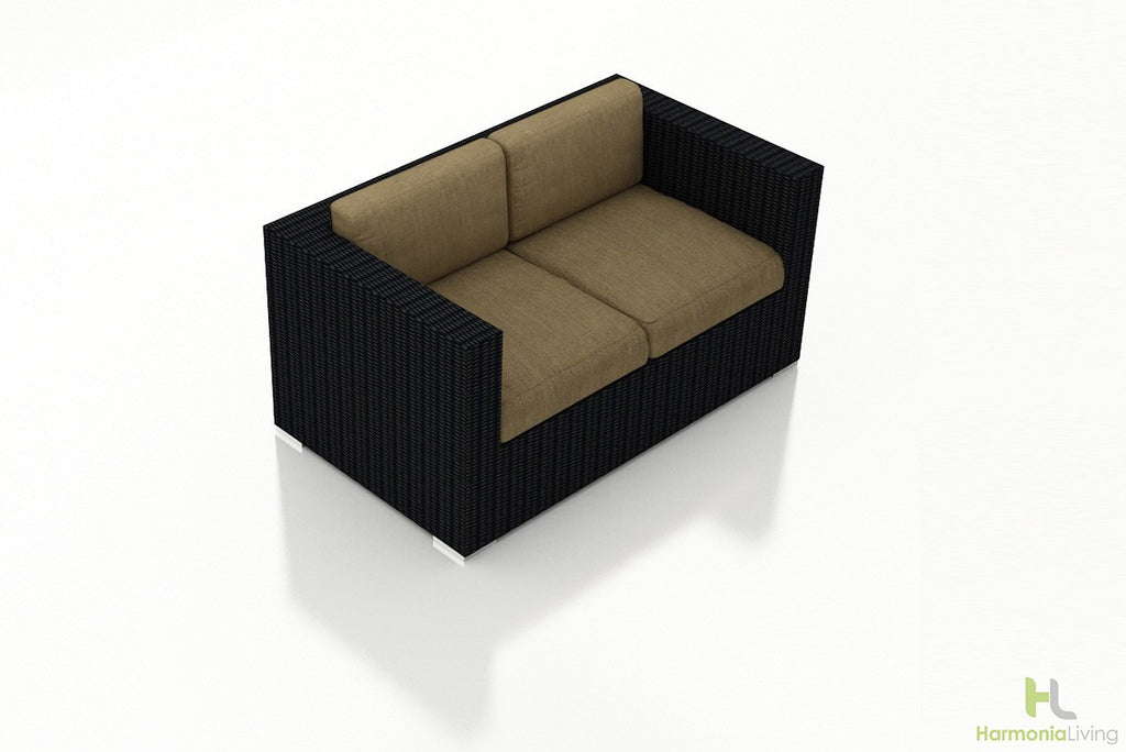 Urbana Coffee Bean Loveseat - Skylar's Home and Patio