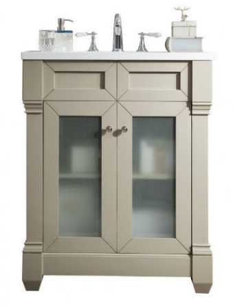"Weston 30"" Single Vanity - Skylar's Home and Patio"