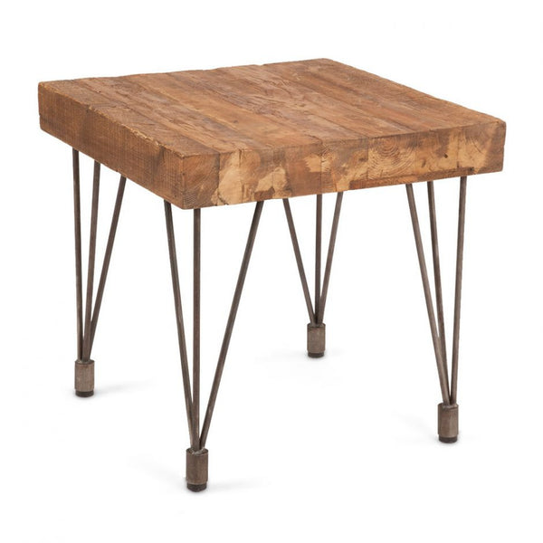 Boneta End Table Natural - Skylar's Home and Patio