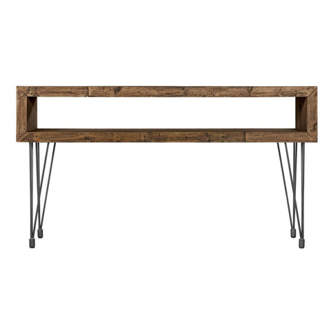 Boneta 2 Level Console Table Natural - Skylar's Home and Patio