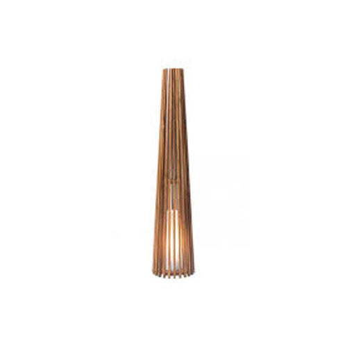 Cosima Medium Floor Lamp Natural Teak - Skylar's Home and Patio