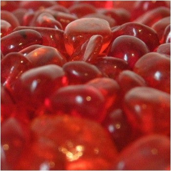 Crystal Red Eco Glass