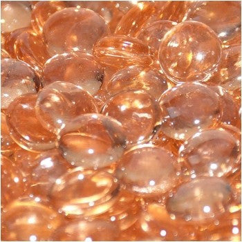 Apricot Luster Firebeads - Skylar's Home and Patio