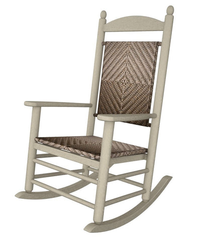 POLYWOOD®  Jefferson Woven Rocker - Skylar's Home and Patio