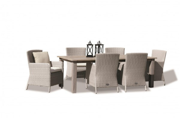 Manhattan Wicker Dining Set - Skylar's Home and Patio