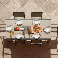 "POLYWOOD® MOD SOLID™ 36"" x 73"" Dining Table - Skylar's Home and Patio"