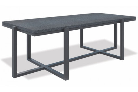 Milano Rectangle Table with Honed Granite - Skylar's Home and Patio