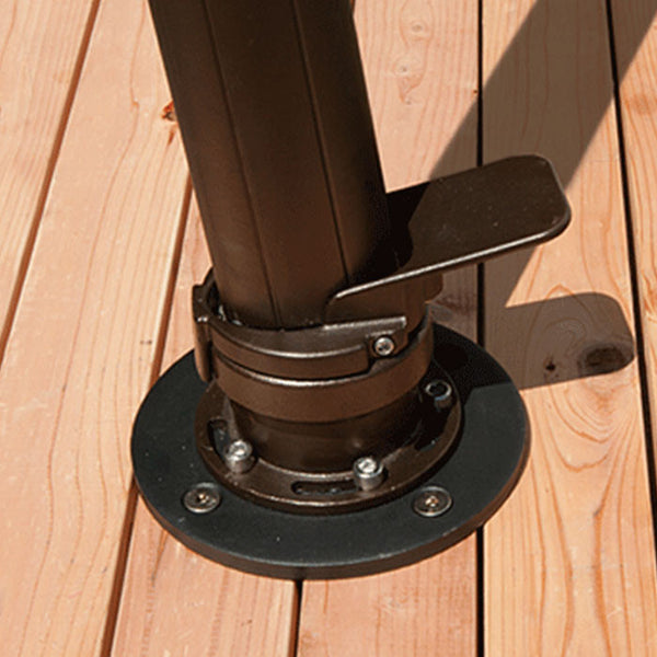 AKZ Wood Mount Kit Umbrella Base - Skylar's Home and Patio