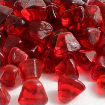 Ruby Red Zircon Fire Glass - Skylar's Home and Patio