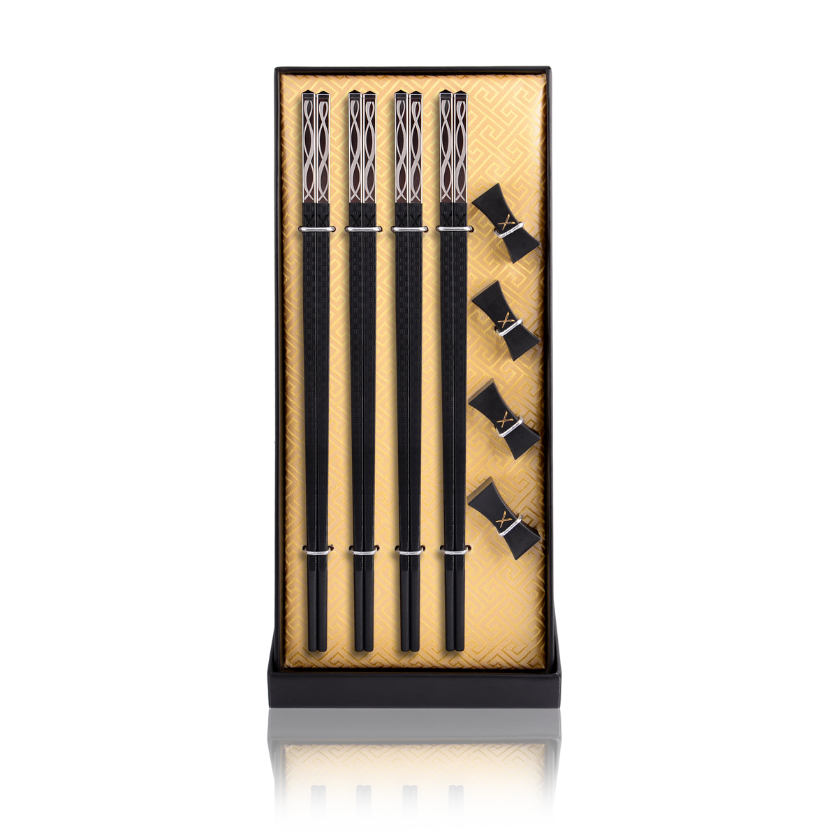 Luxury Chopsticks Set. Our chopsticks are luxurious, reusable and safe to use. Packed in a beautiful set, our designs are modern, traditional and elegant. Infinity - LuxSticks