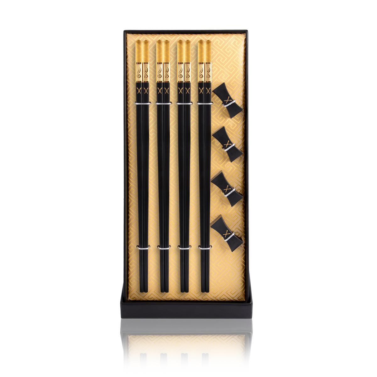 Luxury Chopsticks Set. Our chopsticks are luxurious, reusable and safe to use. Packed in a beautiful set, our designs are modern, traditional and elegant. Igneous - LuxSticks