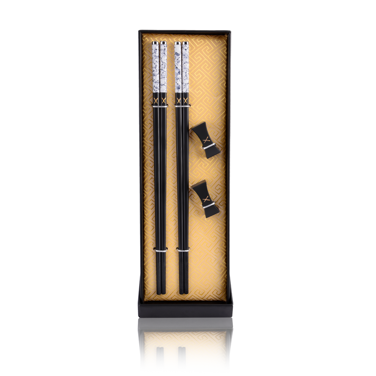 Luxury Chopsticks Set. Our chopsticks are luxurious, reusable and safe to use. Packed in a beautiful set, our designs are modern, traditional and elegant. Marble-ous - LuxSticks