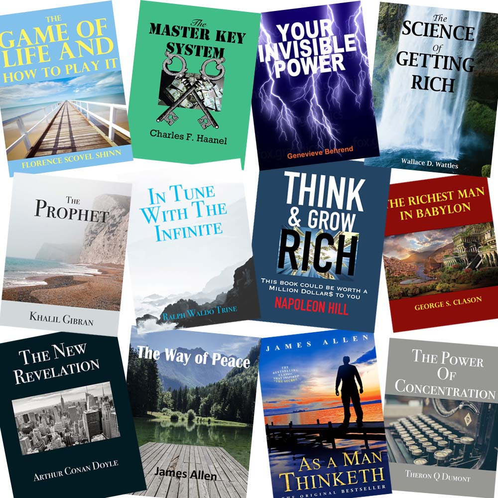 12 Classic Ebooks + Bonus: THINK & GROW RICH, YOUR INVISIBLE POWER + More! - FabulousLife