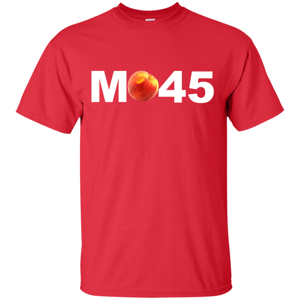 """M-Peach-45"" Ultra Cotton T-Shirt - FabulousLife"
