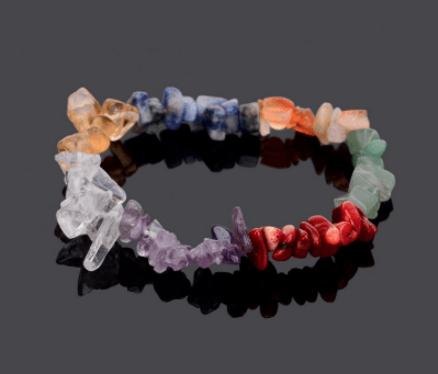 Chakra Healing Crystals Natural Stone Bracelet;  Amethyst ,Tiger Eye, Turquoise, Agate More - FabulousLife