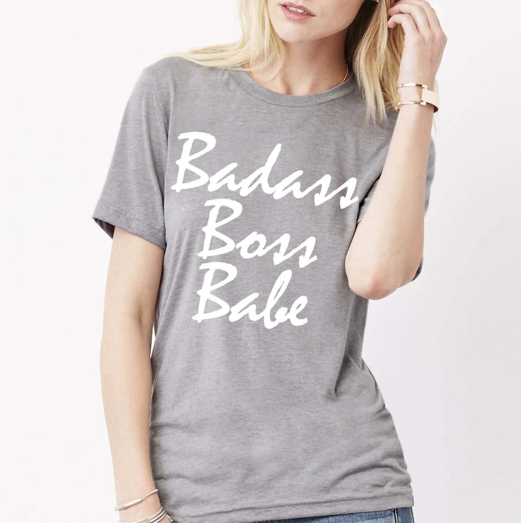 BADASS BOSS BABE Ultra Cotton T-Shirt - FabulousLife
