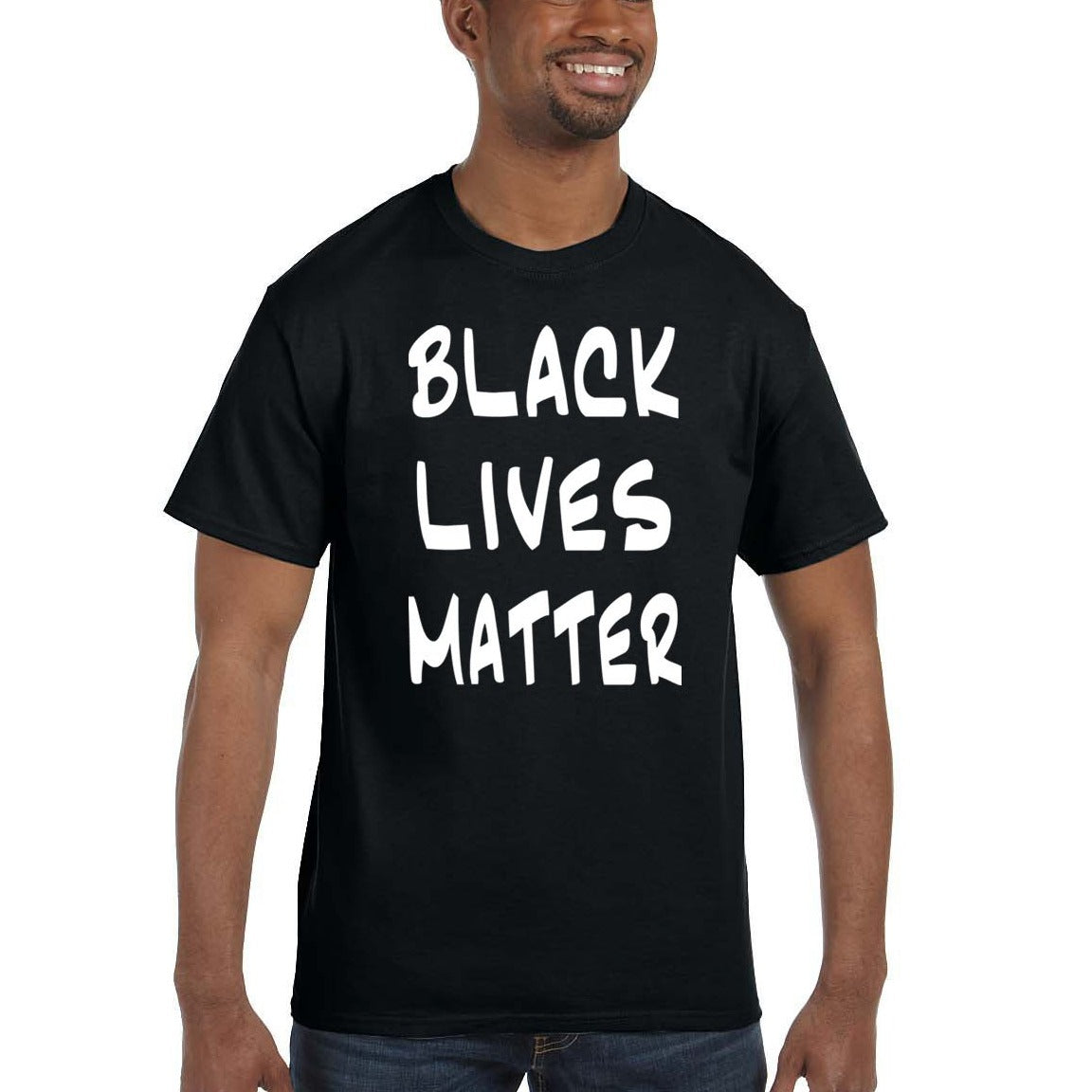 """BLACK LIVES MATTER"" Unisex Short Sleeve Jersey Tee"