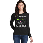 I AM CATWOMAN, HEAR ME ROAR! Adorable T-Shirt for the Cat Lover in Your Life! - FabulousLife