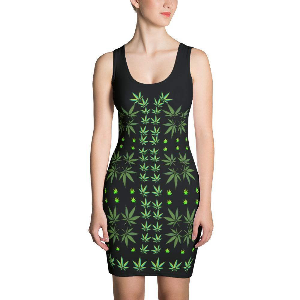 FASHION 420: Sexy Black Fitted Designer Print Dress, Exclusive! - FabulousLife