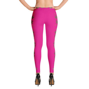 FASHION 420: Sexy Hot Pink Leggings:  Wear Your Statement! - FabulousLife