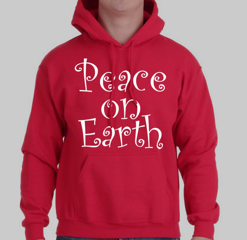 PEACE ON EARTH Hoodie - FabulousLife