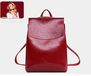 "Stylish Vegan Leather Backpack. 9 Colors! Roomy 13.5"" x 11"" x 5"" REDUCED!! - FabulousLife"