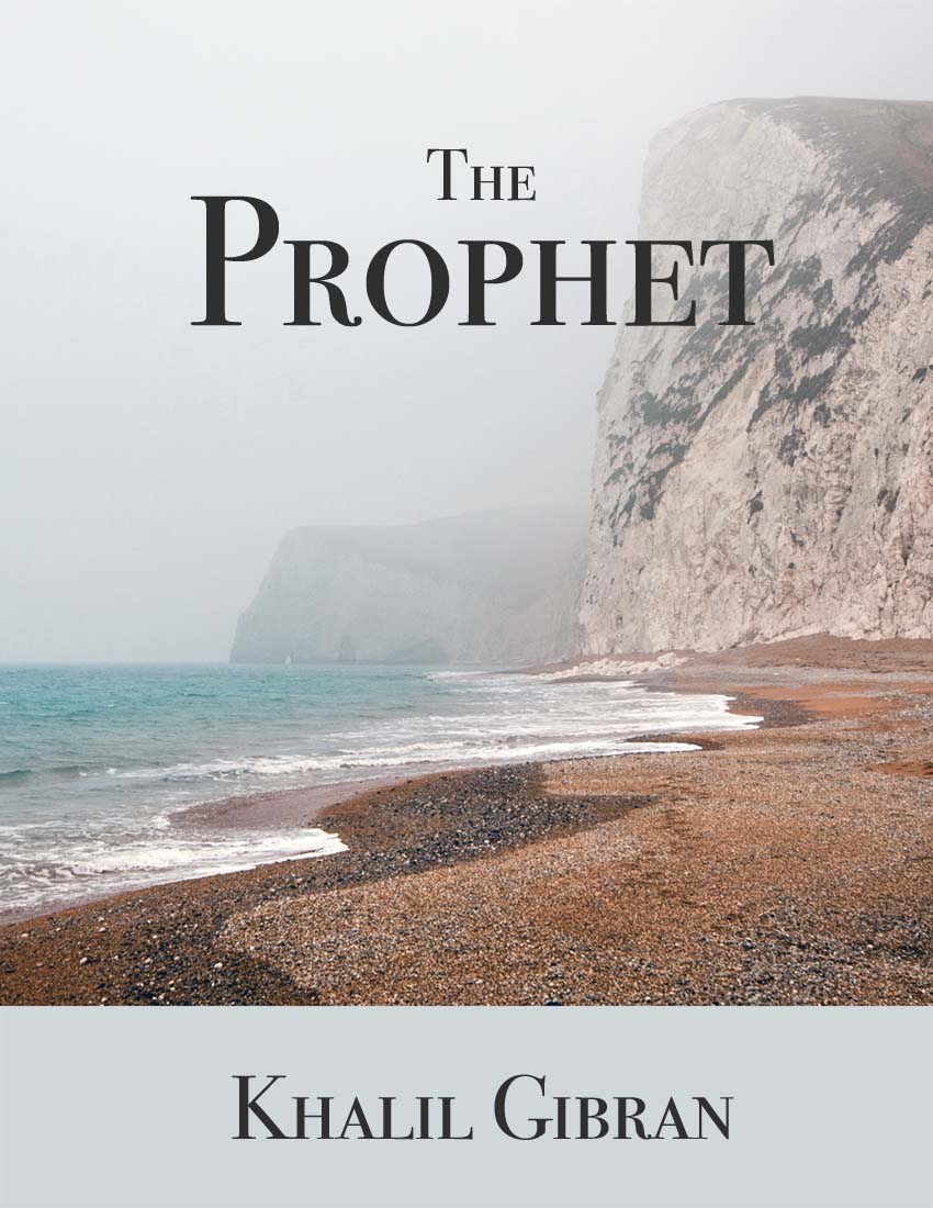 """THE PROPHET"" by Khalil Gibran - Classic Ebook - FabulousLife"