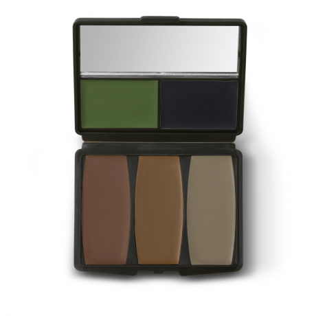 Camo Compac 5 Color Military Forest Makeup Kit - 00298 - Hunters Specialties