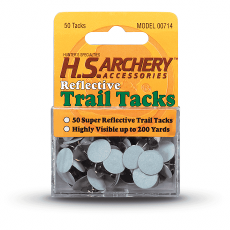 Reflective Trail Tacks - White - Hunters Specialties