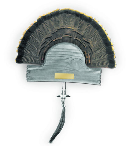HS STRUT Old Barn Turkey Plaque - 00835
