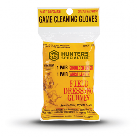 Field Dressing Glove Deluxe 2 Pack - 01071 - Hunters Specialties