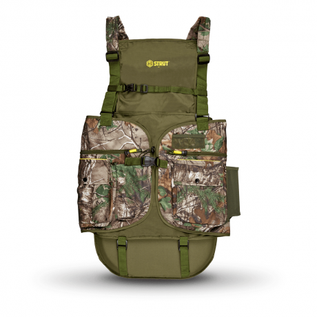HS STRUT Turkey Vest - Realtree® Xtra Green™ - L/XL- 01856 - Hunters Specialties