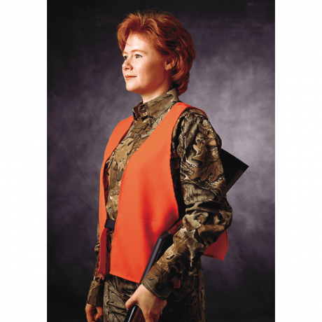Blaze Orange Vest Safety - Hunters Specialties
