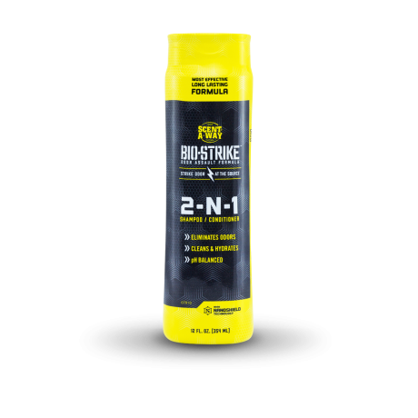 Scent-A-Way Bio-Strike 2-N-1 Shampoo & Conditioner - Hunters Specialties