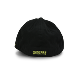 HS Black Embroidered Fitted Hat - 100061 - Hunters Specialties