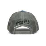 HS Q3 Slate Blue / Grey Mesh Embroidered Trucker Hat -  100062
