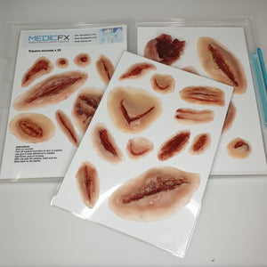 STICK-ON WOUND SHEETS