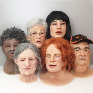 MANIKIN FACE OVERLAYS