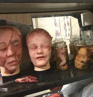House of horror cabinet