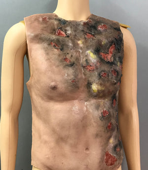 MS310 TORSO BURNED