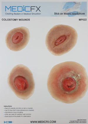 MP022 SHEET COLOSTOMY