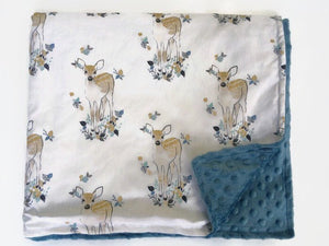 Deer Baby Blanket - Dream Evergreen @DreamEvergreen