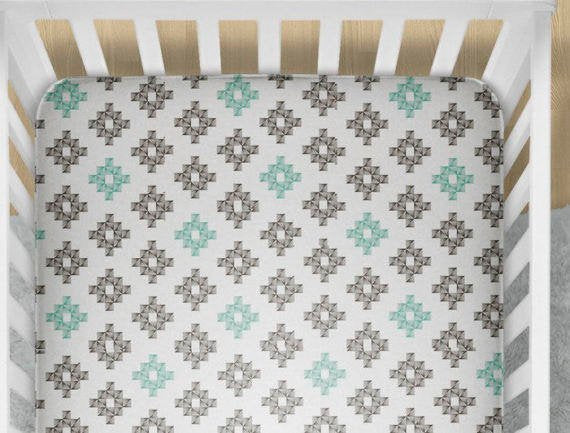 Fox Nursery Set- Acorn Baby Bedding - Dream Evergreen @DreamEvergreen