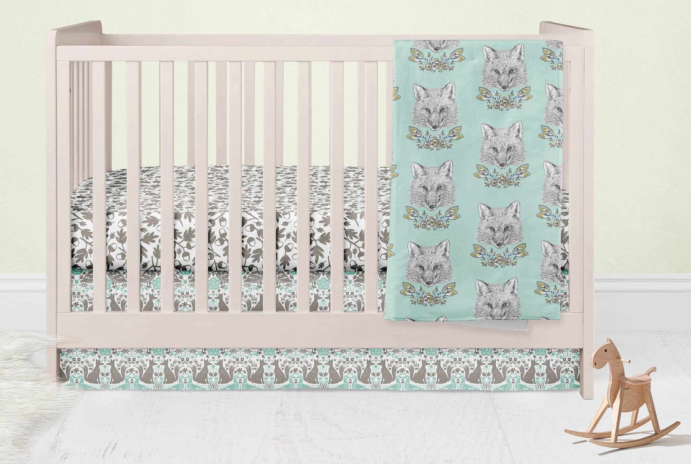 Fox Nursery Set- Acorn Baby Bedding - Orange Blossom Special  @orangeblossomspecial805